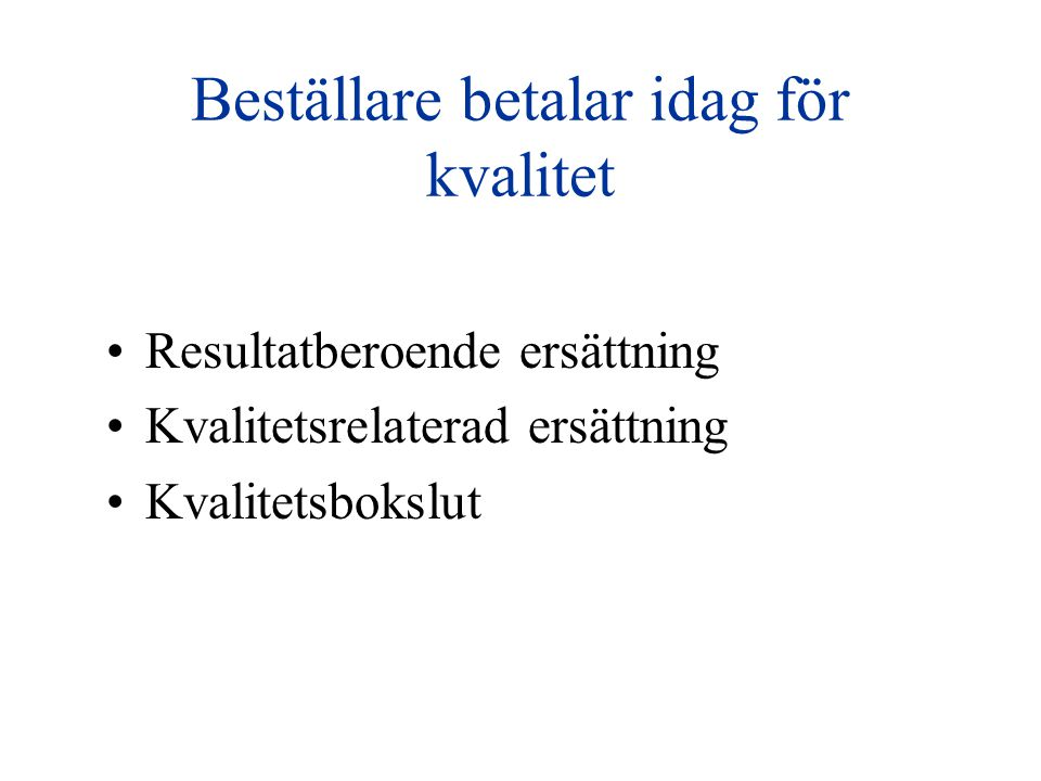 SFAM.Qs Mål & Mått byggs vidare Ny kvalitetsindikator: Levnadsvanor Sven Engström Linköping, Hans Brandström, Visby