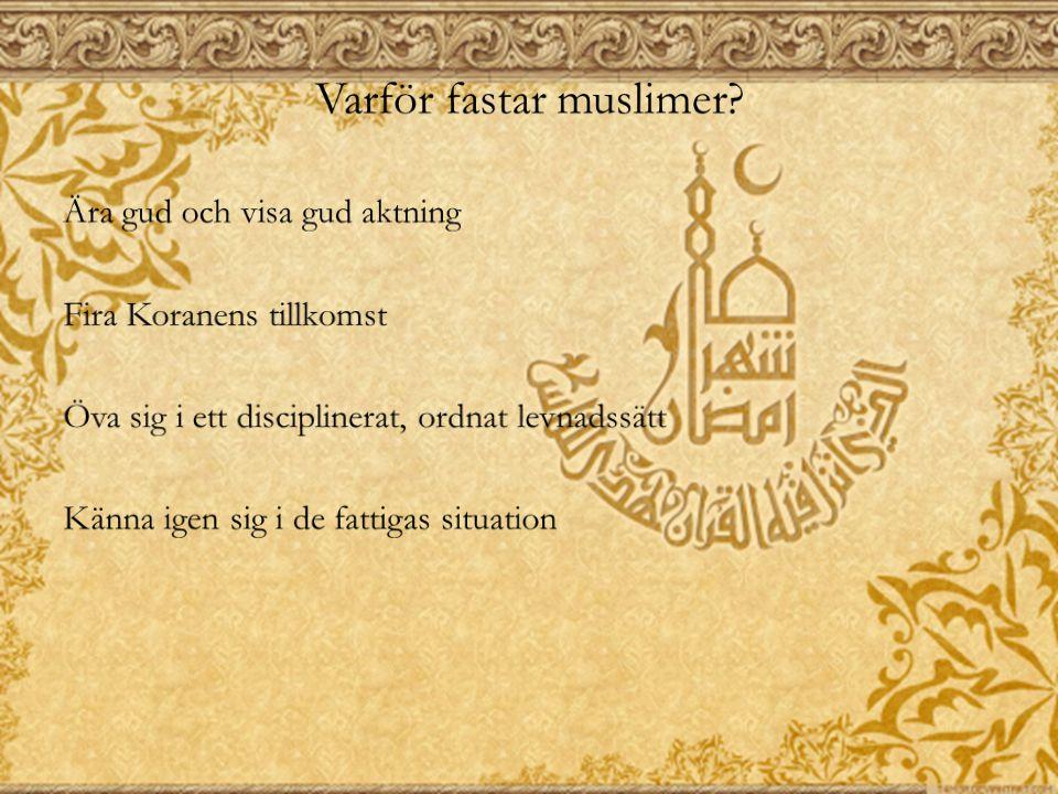 Muhammeds sunna och haditherna Men hur skall man kunna veta vad Muhammed tyckte, sade och gjorde.