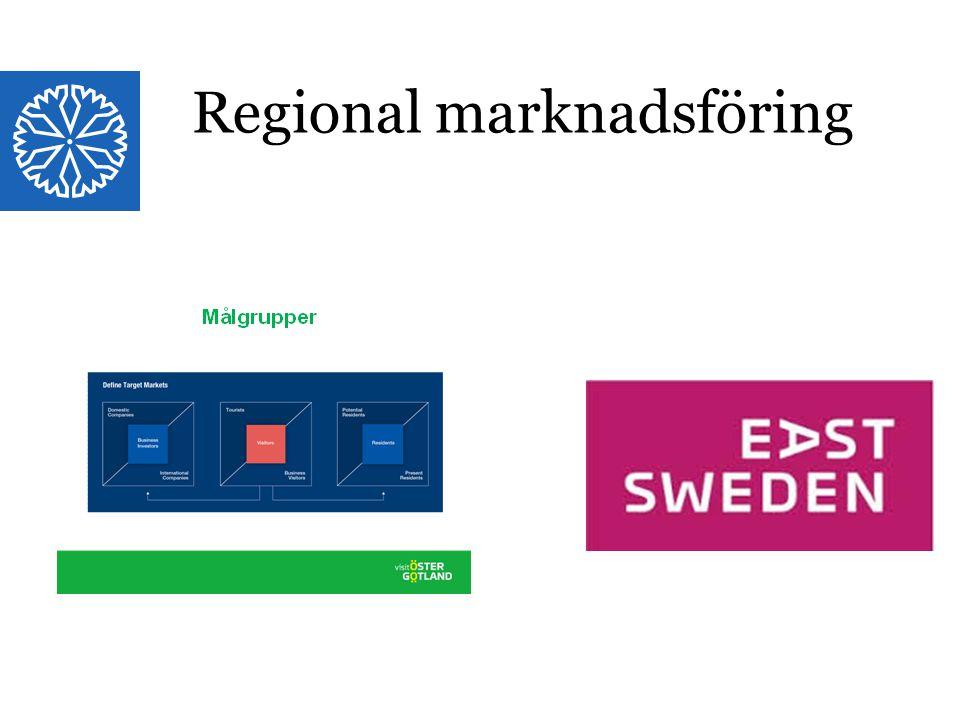 Landstinget i Östergötland Regional marknadsföring