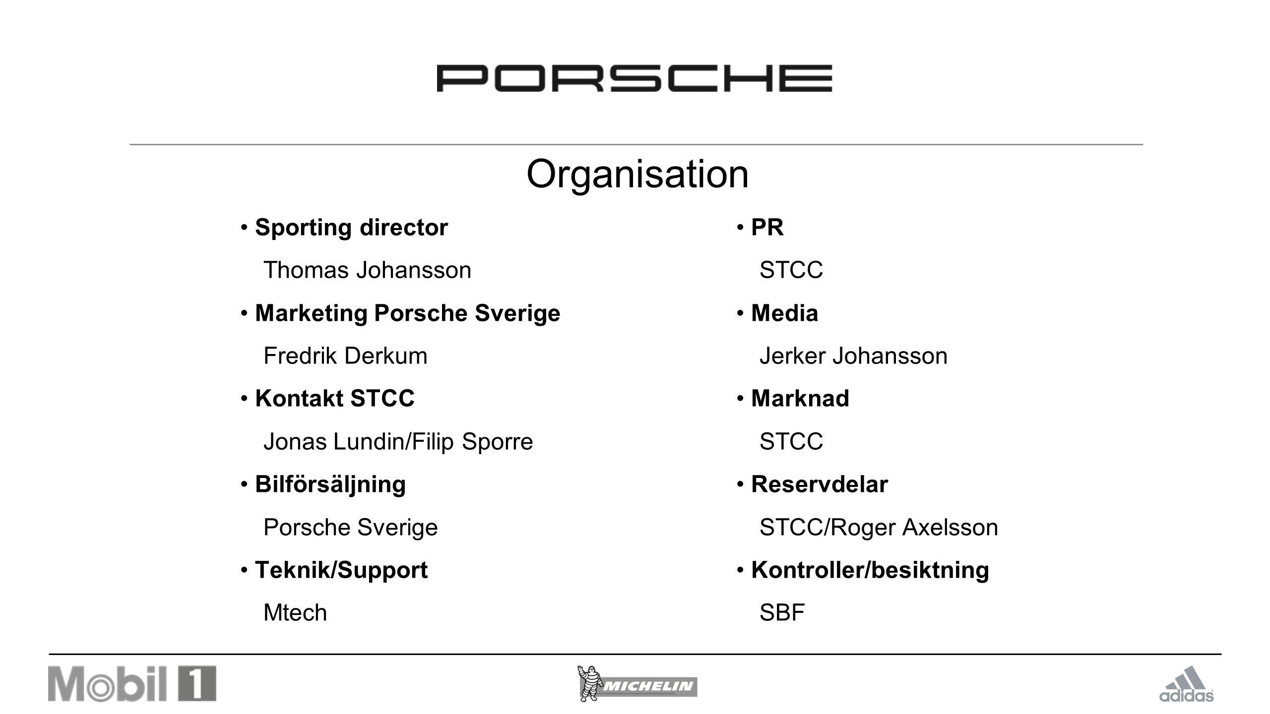 Priser Porsche Approved Cup (997) Egen prisutdelning efter varje race Prisutdelning Night Of Champions för klassvinnaren