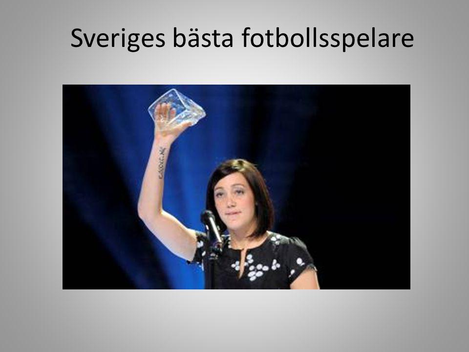 Sveriges bästa fotbollsspelare