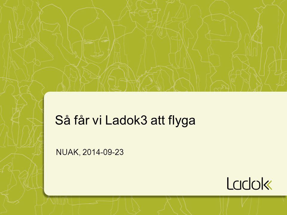 Så får vi Ladok3 att flyga NUAK, 2014-09-23