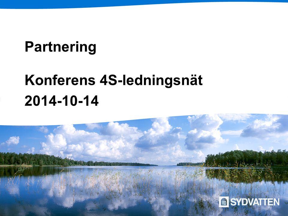 Partnering Konferens 4S-ledningsnät 2014-10-14