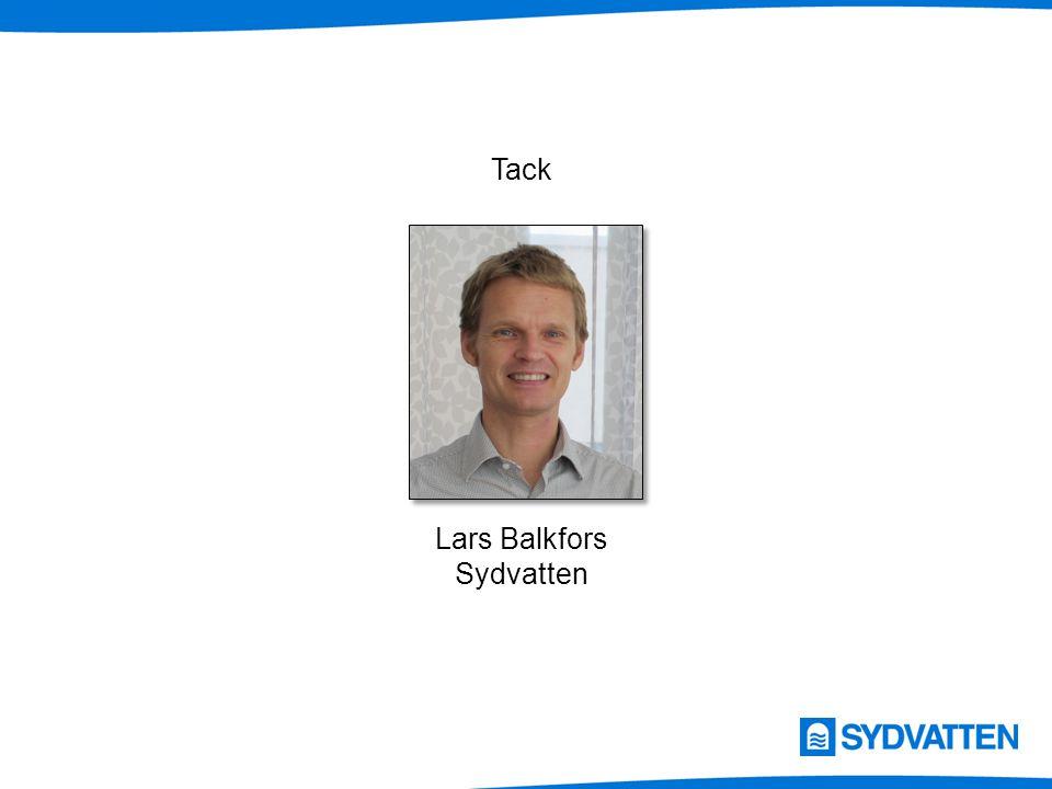 Lars Balkfors Sydvatten Tack