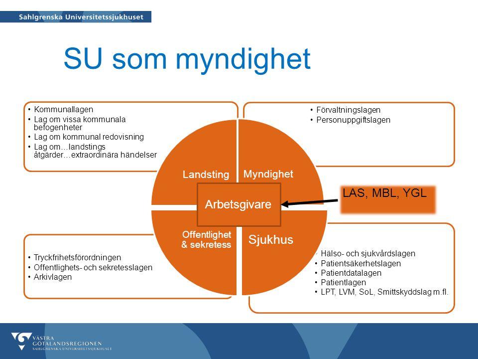 Hälso- och sjukvårdslagen Patientsäkerhetslagen Patientdatalagen Patientlagen LPT, LVM, SoL, Smittskyddslag m.fl.