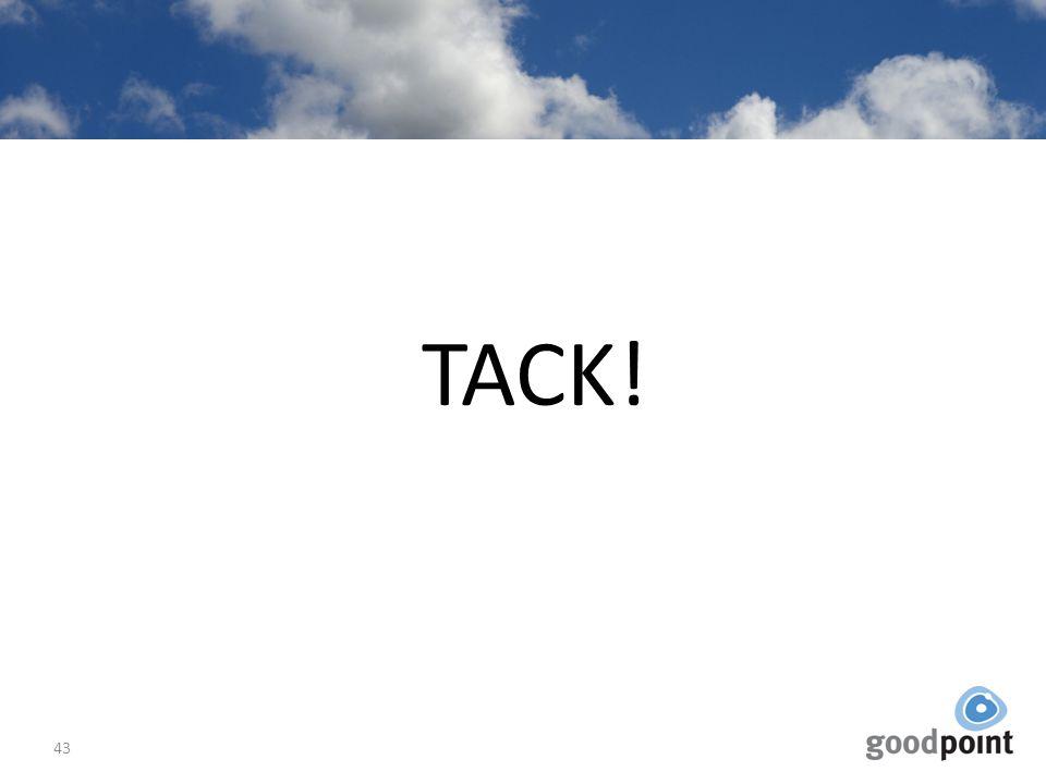 TACK! 43