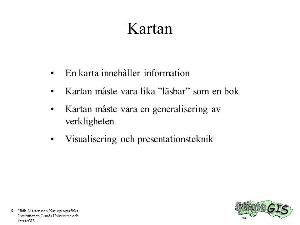 Koordinatsystem Precis som kartor med olika projektioner kan inte kartor med olika koordinatsystem överlagras Här ligger i Malmö RT 90 2.5 V medan Skåne ligger i RT 90.