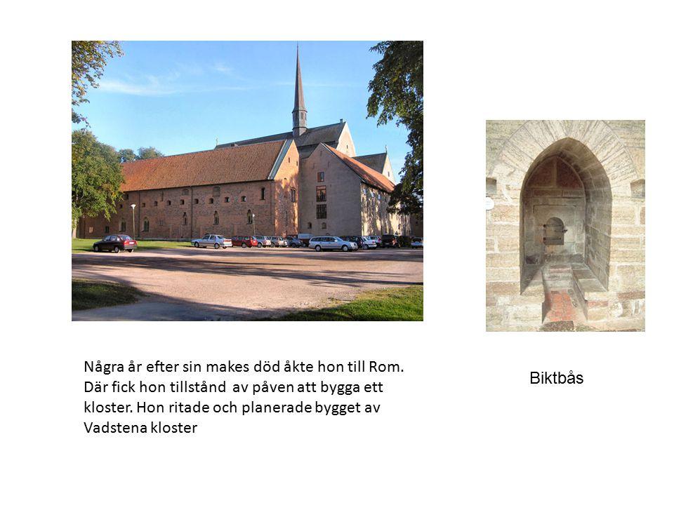 Heliga Birgitta är känd för att hon hade uppenbarelser och såg syner.