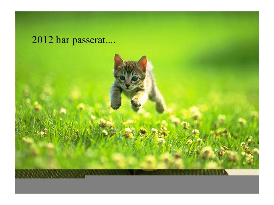 2012 har passerat....