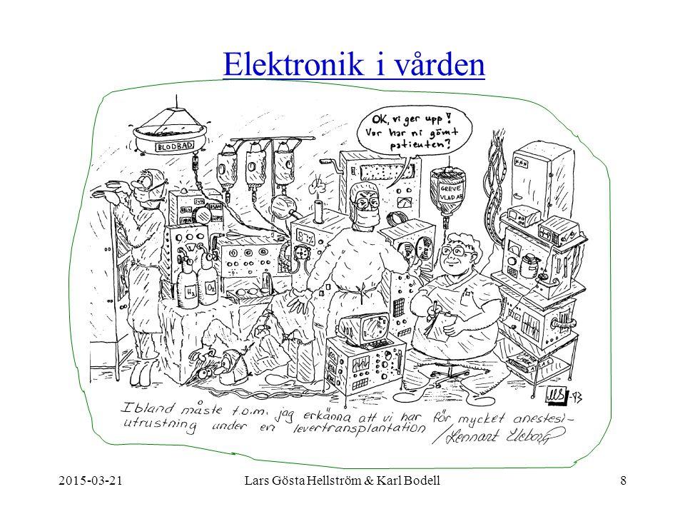 Elektronik i vården 2015-03-218Lars Gösta Hellström & Karl Bodell