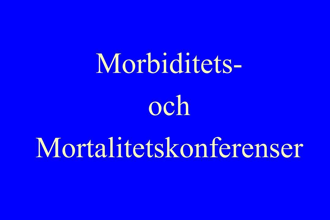 Morbiditets- och Mortalitetskonferenser
