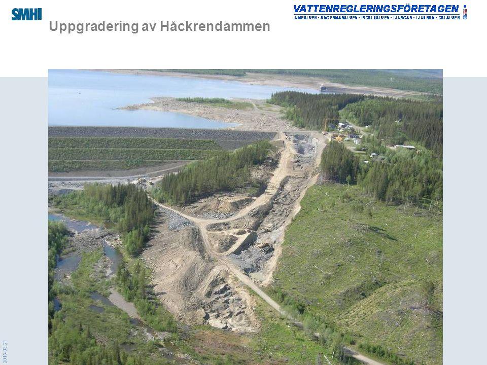 2015-03-21 Uppgradering av Håckrendammen