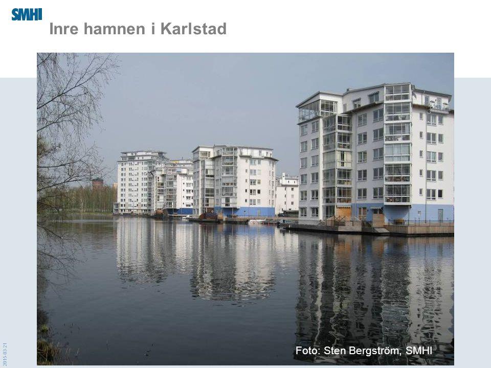 2015-03-21 Inre hamnen i Karlstad Foto: Sten Bergström, SMHI