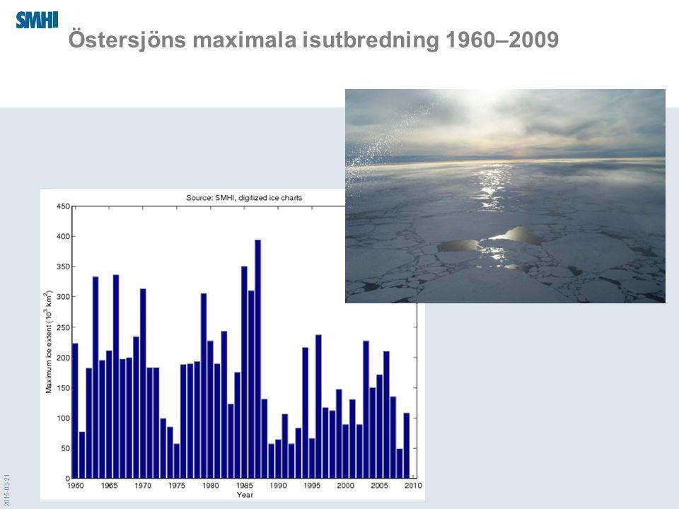 2015-03-21 Östersjöns maximala isutbredning 1960–2009