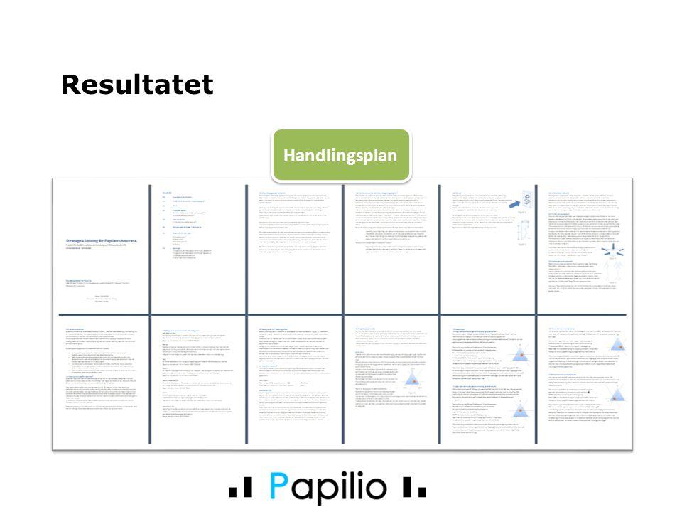 Resultatet Handlingsplan