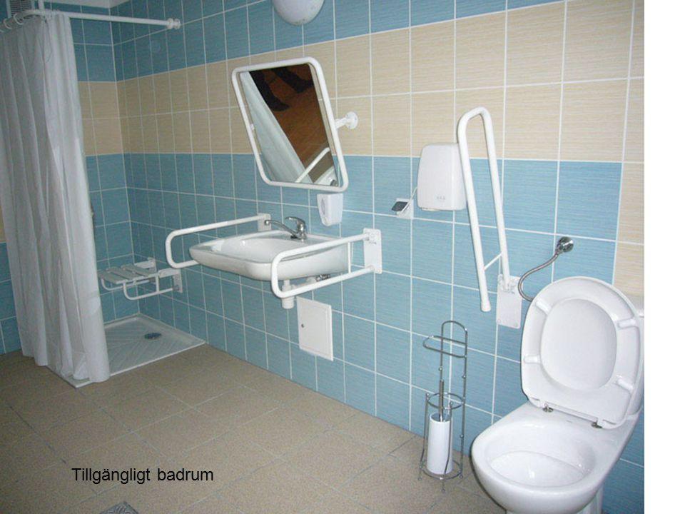 Tillgängligt badrum