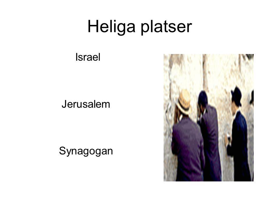 Heliga platser Israel Jerusalem Synagogan