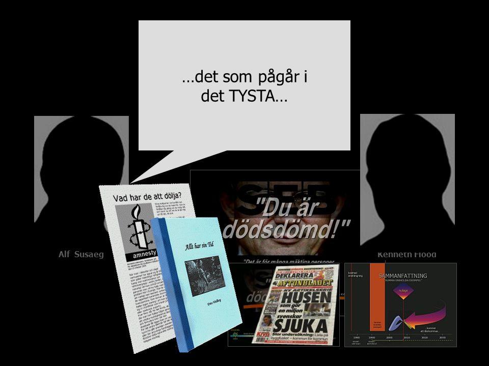 Alf SusaegKenneth Flood …det som pågår i det TYSTA…