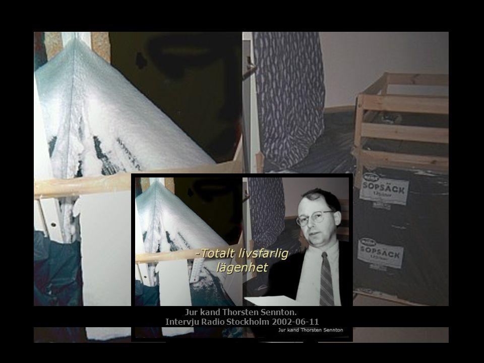 Jur kand Thorsten Sennton. Intervju Radio Stockholm 2002-06-11