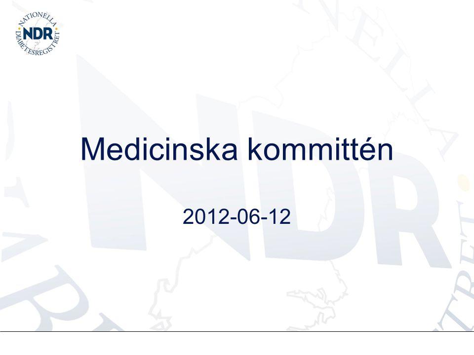 Medicinska kommittén 2012-06-12
