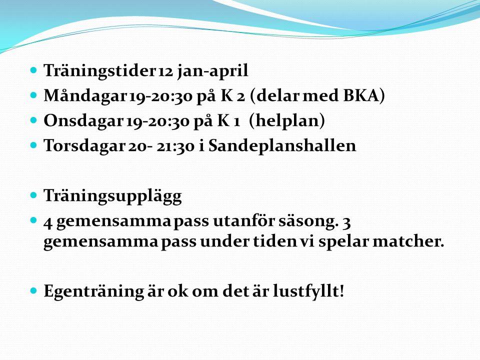 Fys-träning.Johan Höglund ansvarar. 10 veckors schema.