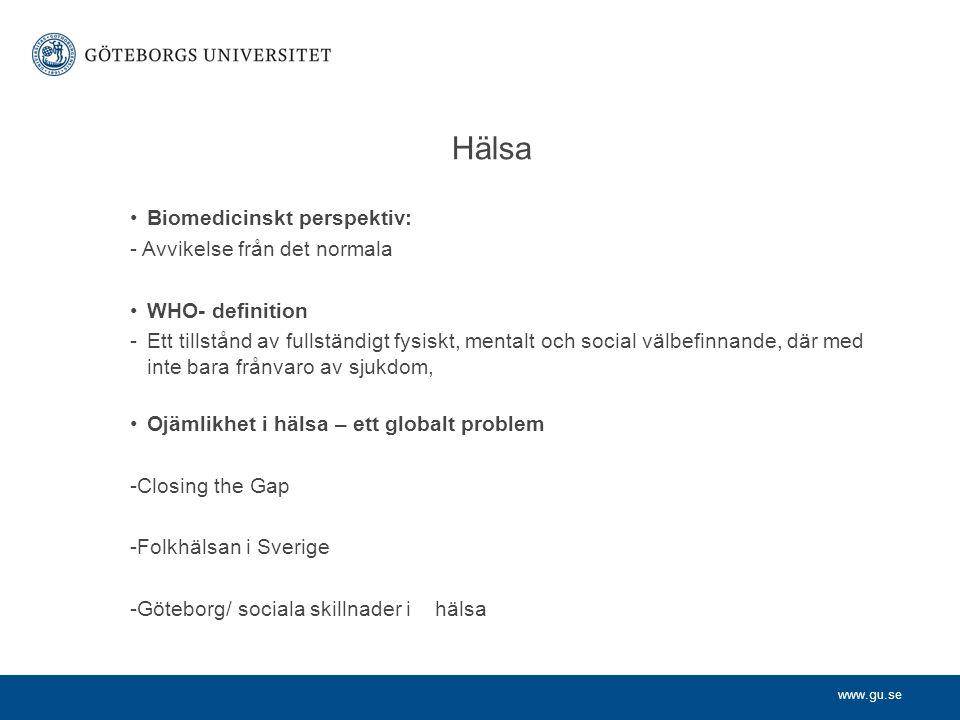 www.gu.se Ram åk 1 (VT 2014)