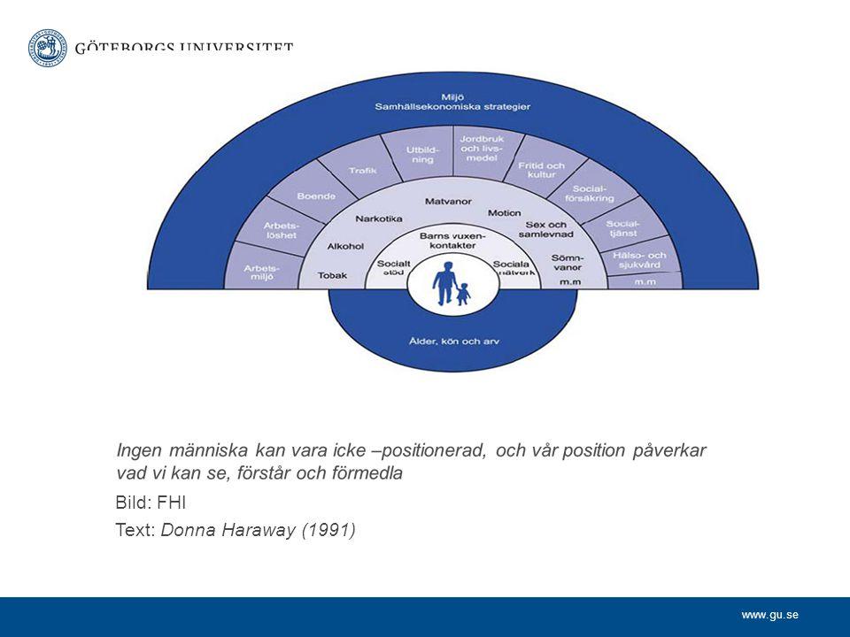 www.gu.se Normer När man granskar mångfald fästs uppmärksamheten ofta på undantagen: Normativiteten osynliggörs och blir rådande.