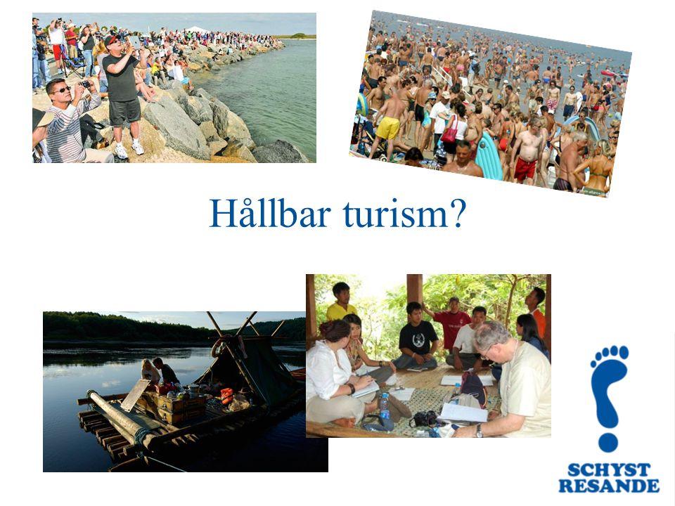 Hållbar turism?