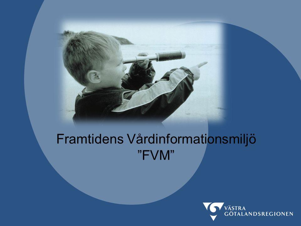 """Framtidens Vårdinformationsmiljö """"FVM"""""""