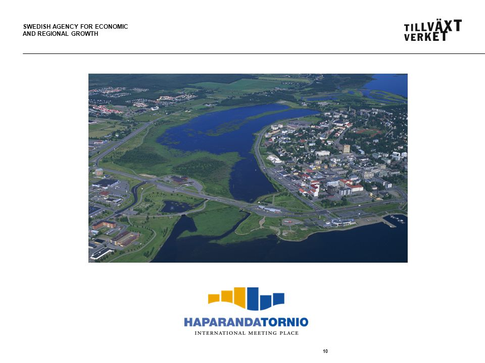 SWEDISH AGENCY FOR ECONOMIC AND REGIONAL GROWTH 10