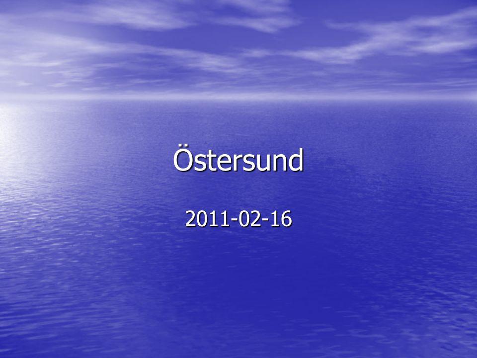 Östersund 2011-02-16