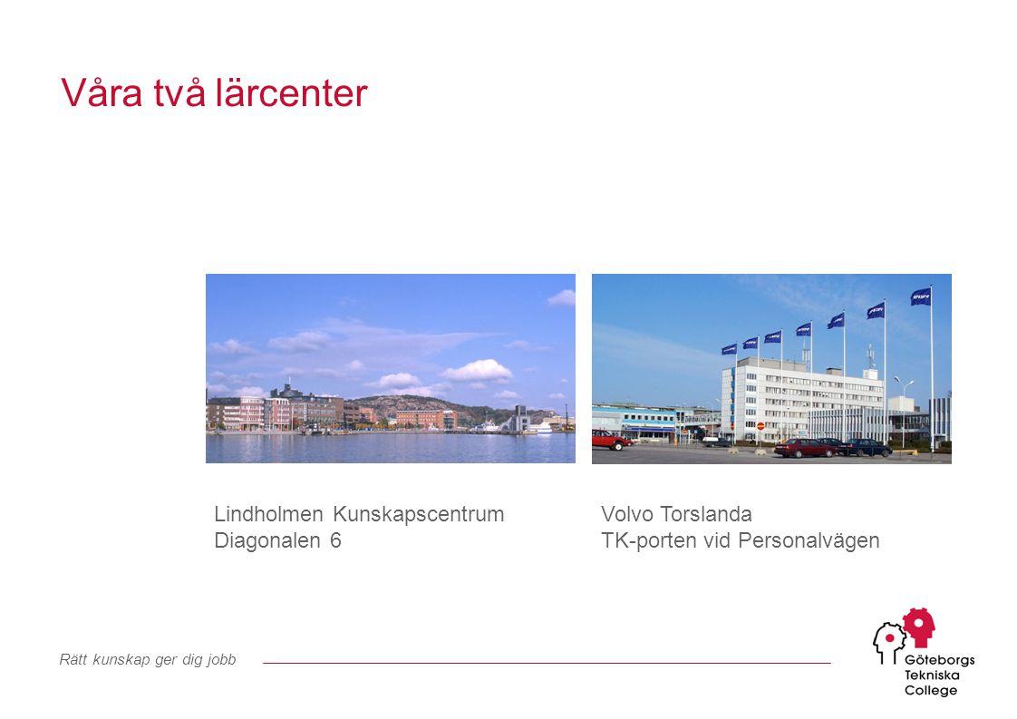Rätt kunskap ger dig jobb GYM KFY KY Synergier Göteborgs Tekniska College