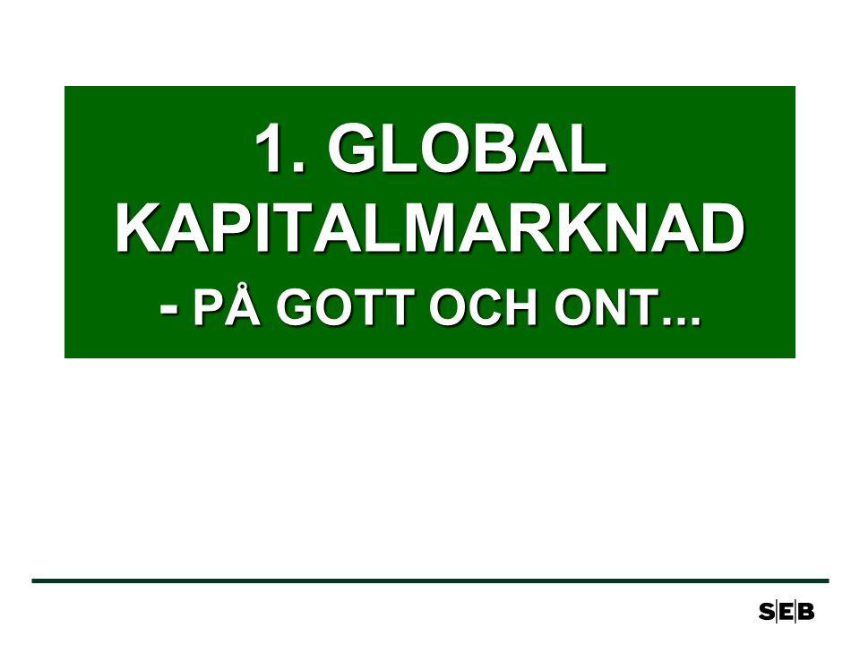 1. GLOBAL KAPITALMARKNAD - PÅ GOTT OCH ONT...