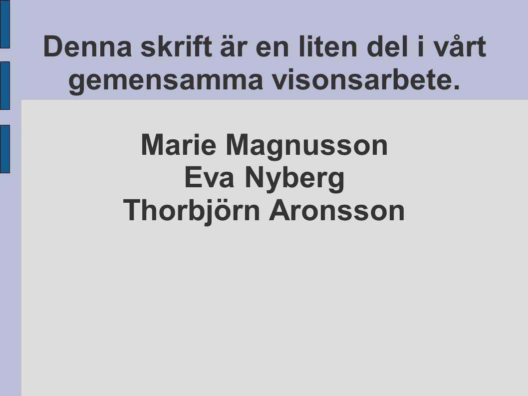 Presentation av storyline som en läs- och skrivutvecklande metod i skolan av Marie Magnusson.