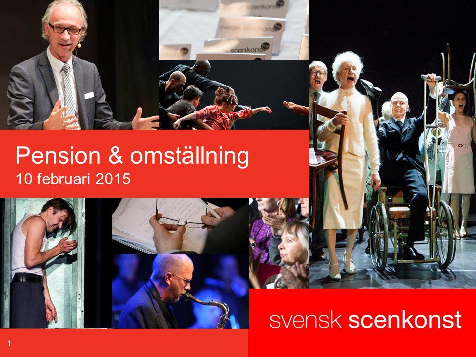 1 Pension & omställning 10 februari 2015
