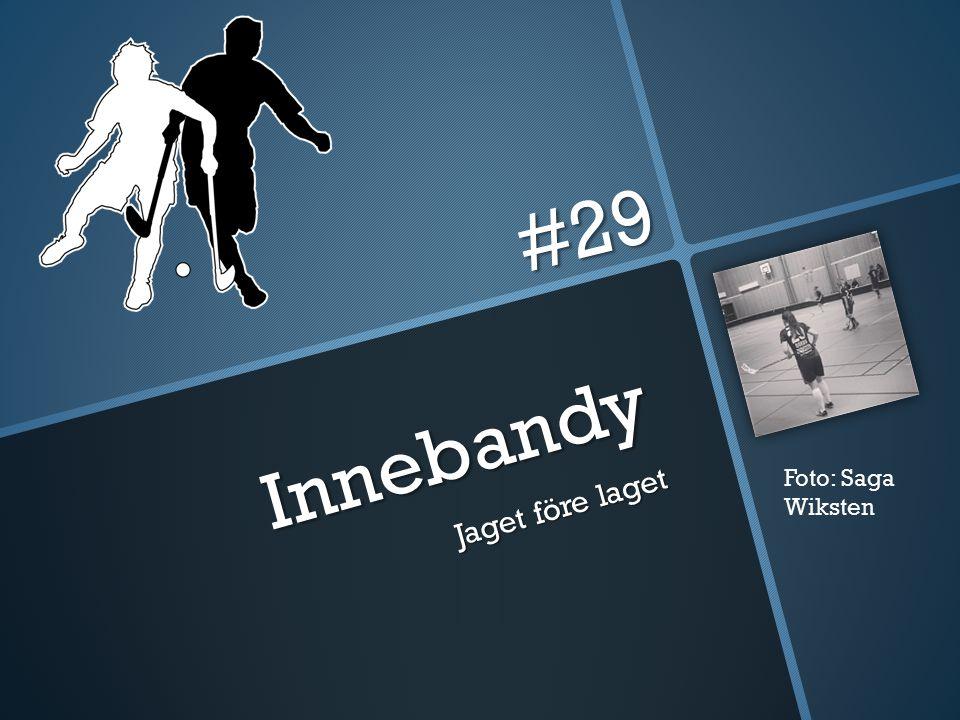#29 Innebandy Jaget före laget Foto: Saga Wiksten