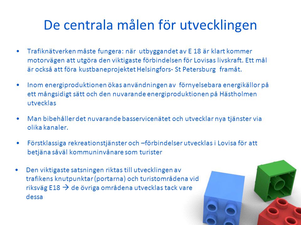 Granskning områdesvis PERNÅ, glesbygd Glesbygdsbefolkningen håller på att koncentreras till byarna  I framtiden ska byggandet av nya bostäder styras till Pernå och de livskraftiga byarna i närheten av tjänster.