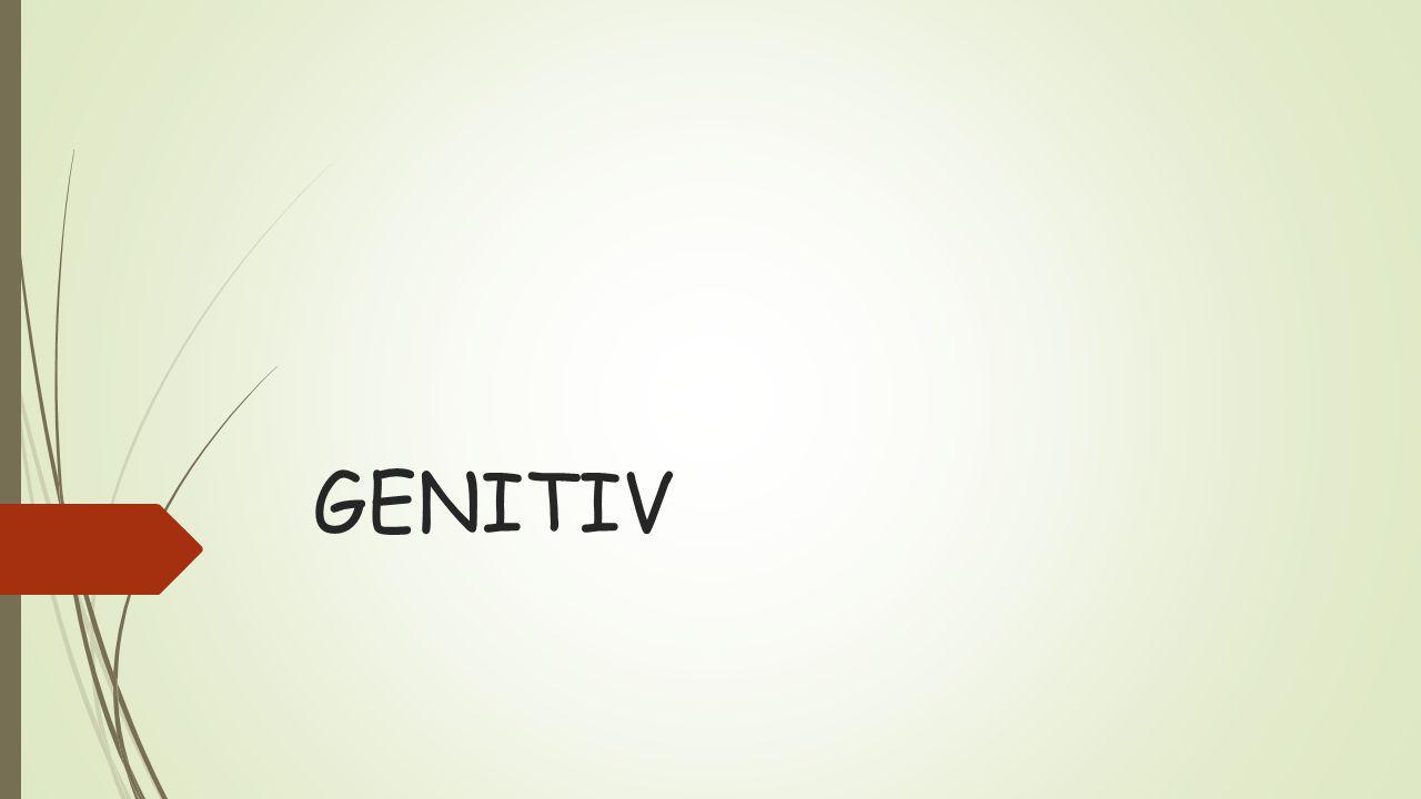 GENITIV