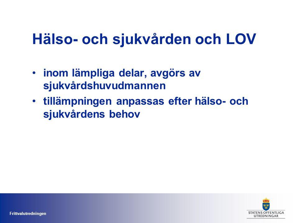 Frittvalutredningen Varför inte t.ex.ett skolpengsystem.