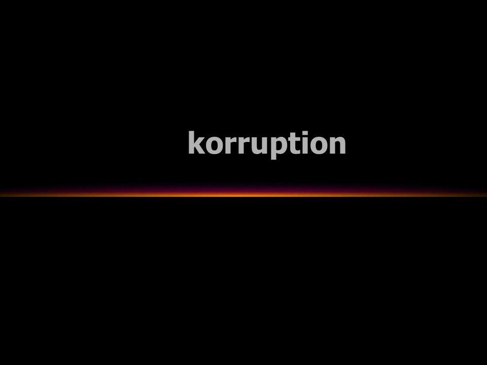 korruption rättsröta