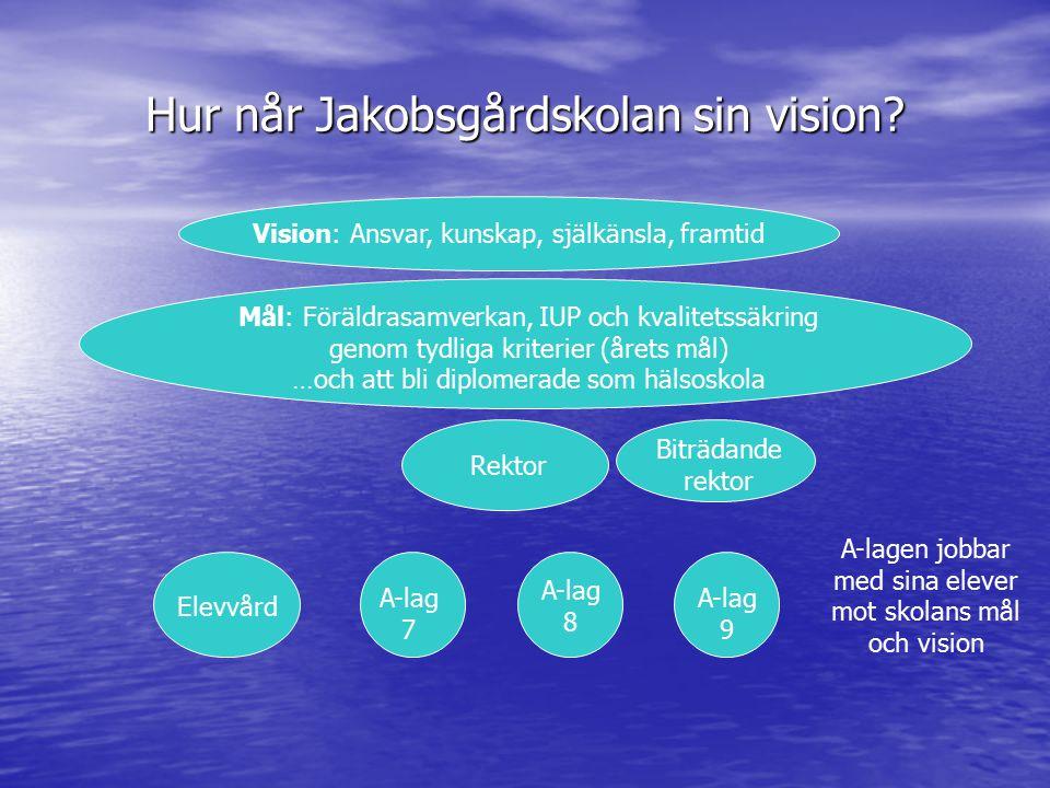 Hur når Jakobsgårdskolan sin vision.