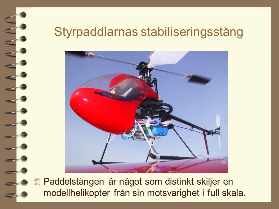 Gyroskopisk precession 4 Komplikationen är att rotorn är ett stort gyroskop.