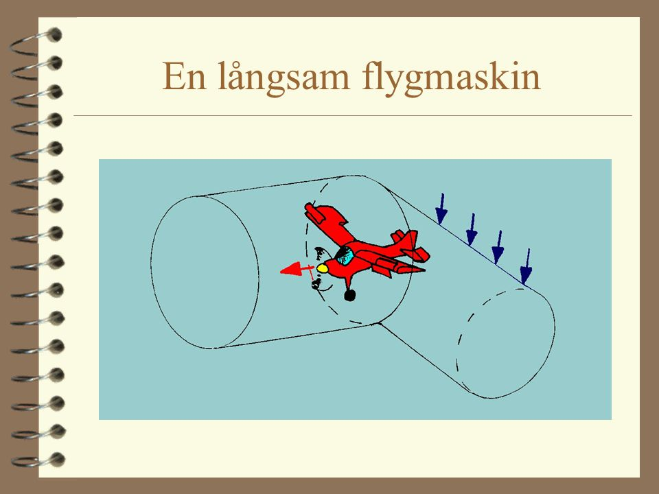 En snabb flygmaskin