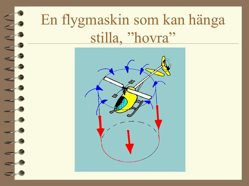 En långsam flygmaskin