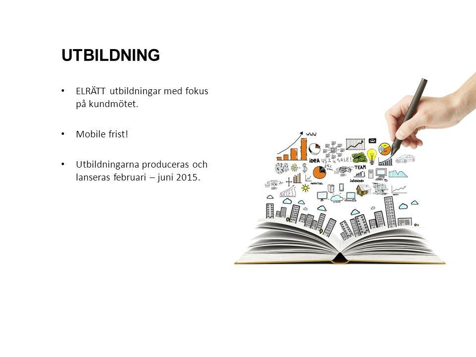 ELRÄTT utbildningar med fokus på kundmötet. Mobile frist.