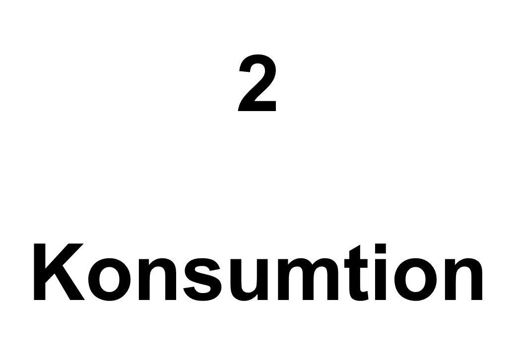 2 Konsumtion