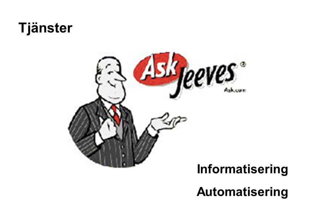 Informatisering Automatisering