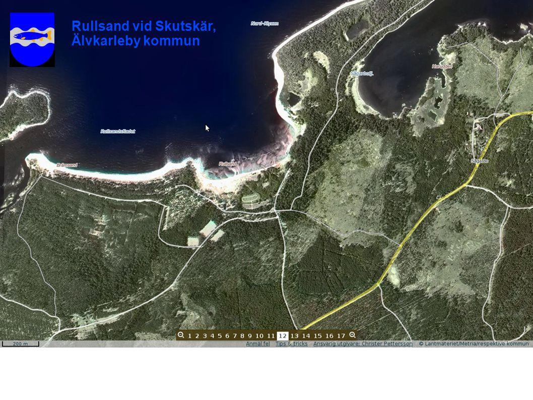 Rullsand vid Skutskär, Älvkarleby kommun