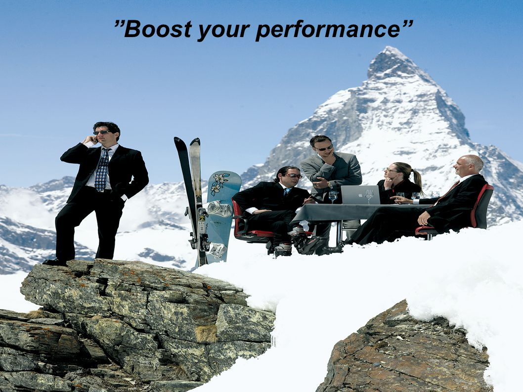 """""""Boost your performance"""""""