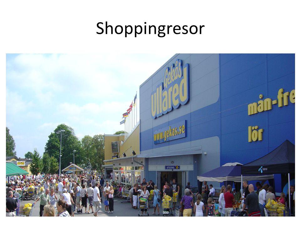 Shoppingresor